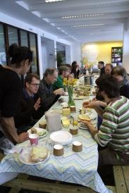 Het Gele Gebouw lunch